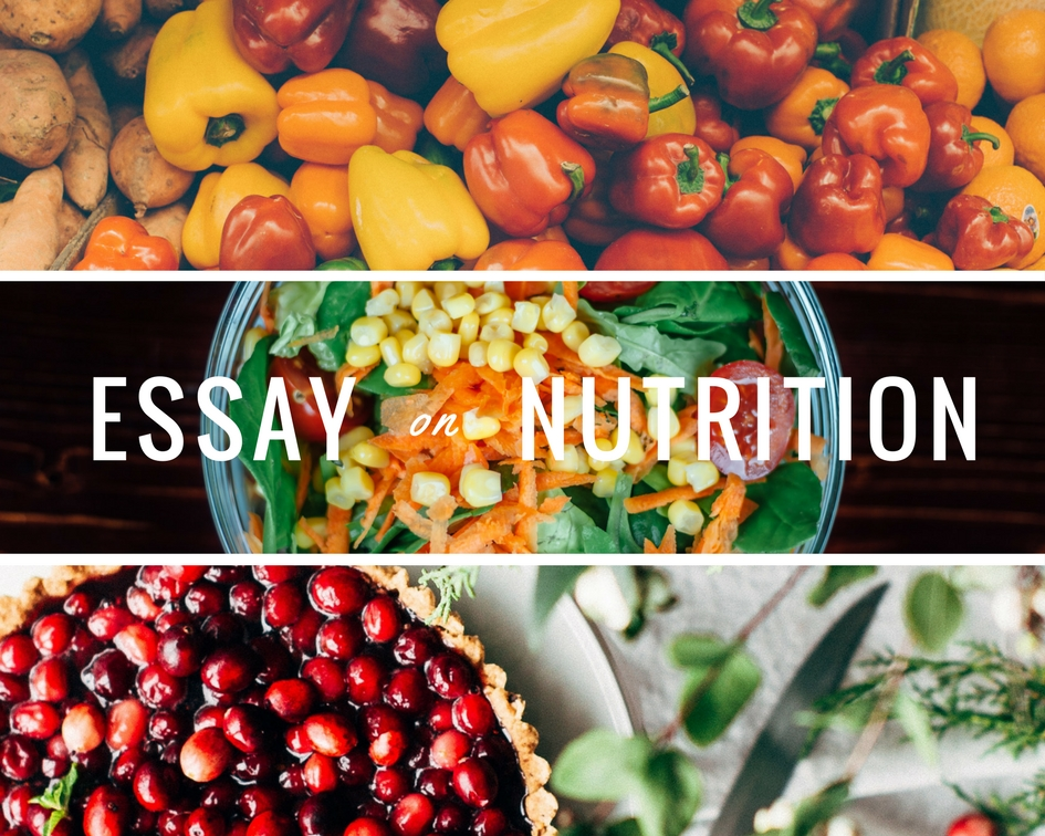 Importance of Nutrition | Essay for Children