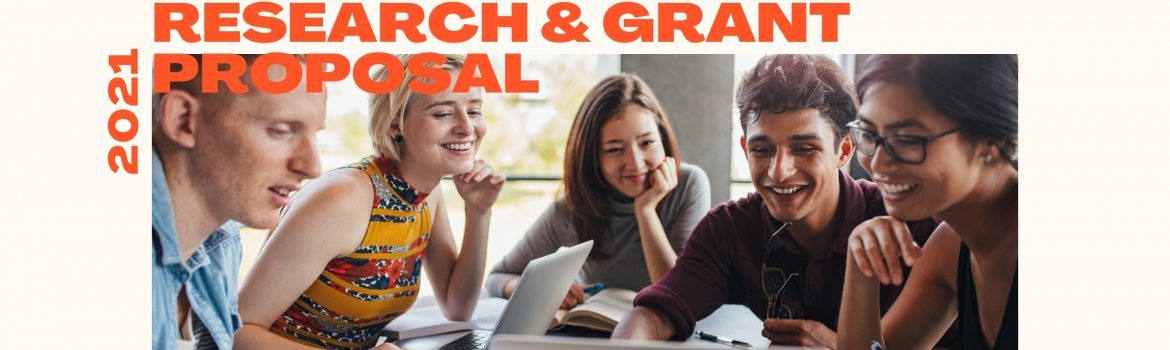 Writing a research and grant proposal information.