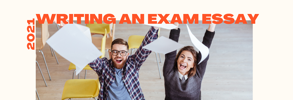 Banner about Writing an Exam