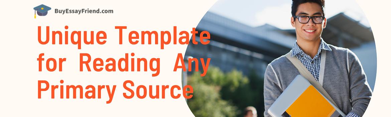 Steps to Understand a Primary Source BuyEssayFriend Banner